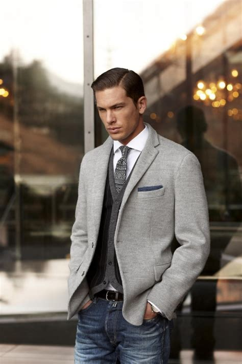 7 Ways To Work The Layered Look by How Dress A Suit 7 Ways To Dress A Suit