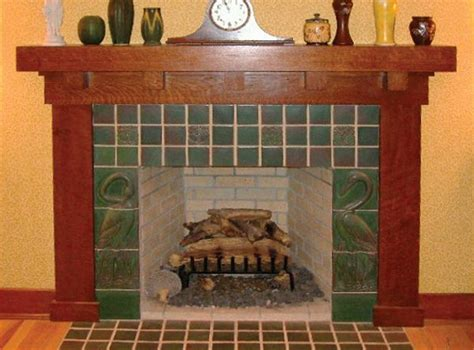 22 best images about arts and crafts fireplaces on