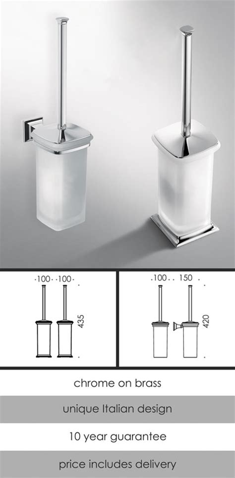Bathroom Accessories Catalogue by Traditional Bathroom Accessories Toilet Brush Set
