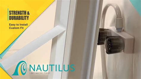 Retractable Shower Door Nautilus Retractable Shower Door