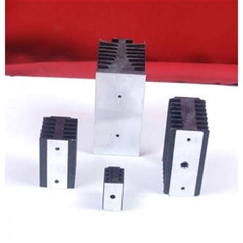 rectifier heat sink extruded section aluminium heat sinks diode heat sink