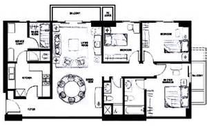 3 Bedroom Apartment Floor Plan Great Value And Convenience At Bonavista Apartments