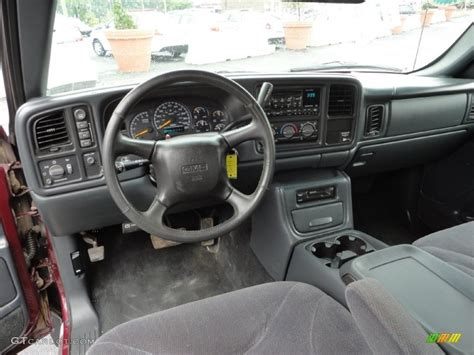 2000 Gmc Interior graphite interior 2000 gmc 1500 sle extended cab