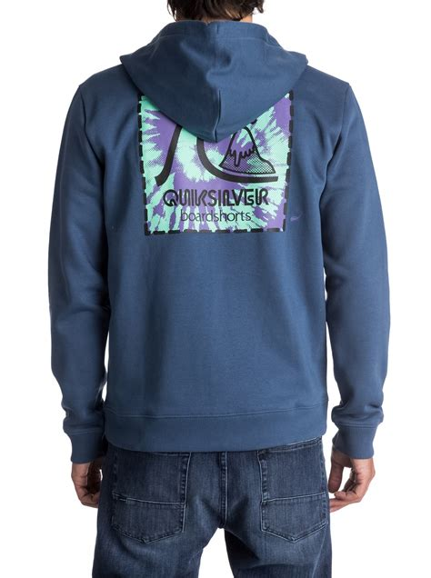 Hoodie Zipper Kindred Never One never say dye zip up hoodie eqyft03700 quiksilver