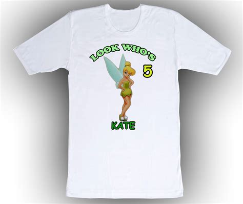 matching formal dinner menus gifts t shirts art personalized custom tinkerbell birthday t shirt gift 2