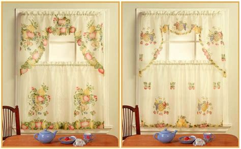 wholesale sheradian kitchen curtain pineapple flower sku