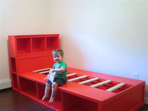 diy childrens headboard diy storage bed with headboard free plans from white bedroom tutorials