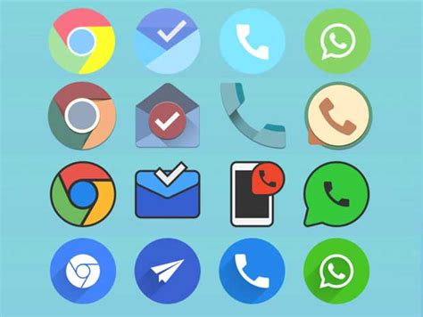 best android icon packs 15 best icon packs for android