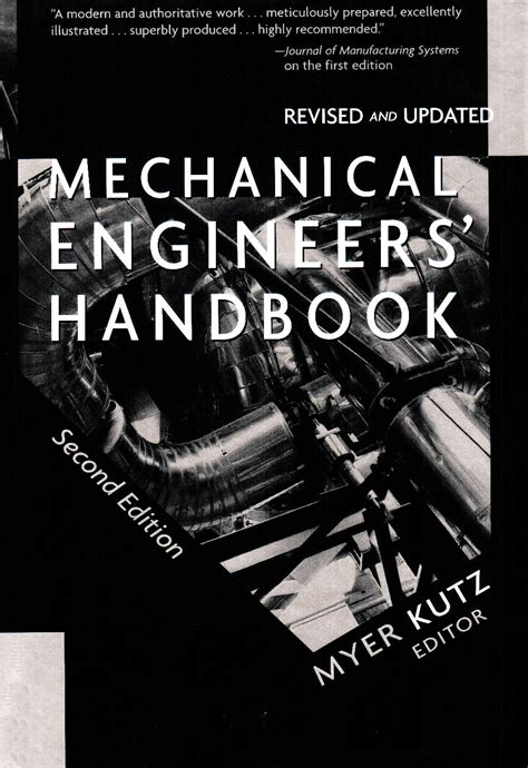 Mechanical Engineer S Handbook 2nd Edition Revised