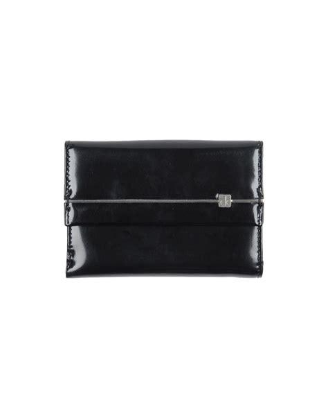 calvin klein ck wallet ck calvin klein wallet in black for lyst