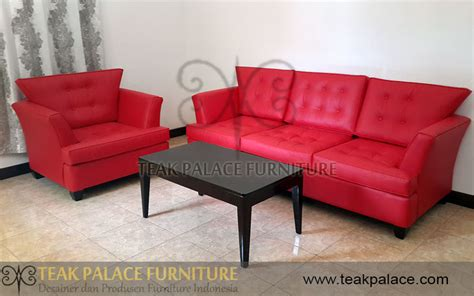 Sofa Minimalis Kulit gambar sofa merah crowdbuild for