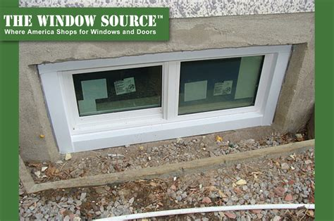 window in basement learning basic window types basement windows window