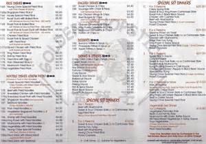menu 2 picture of golden chopsticks andover tripadvisor