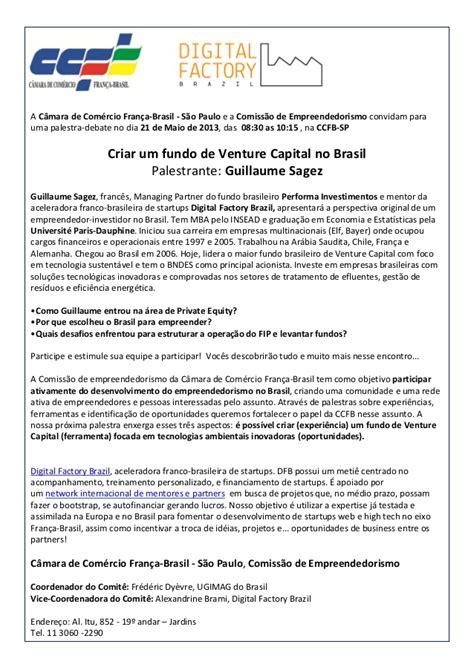 performa of resume venture capital no brasil com