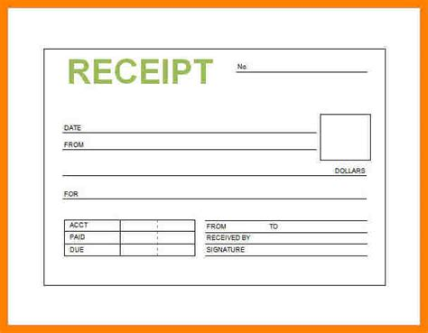 9 printable receipt book cio resumed