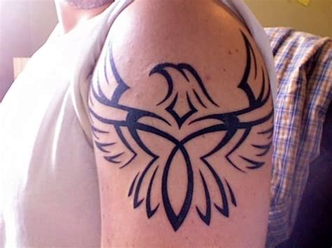 left shoulder tribal tattoo left shoulder tribal eagle