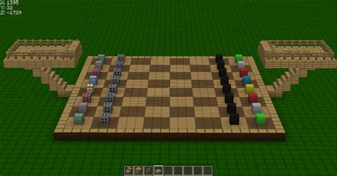 Minecraft Papercraft Chess - chess in minecraft map minecraft worlds curse