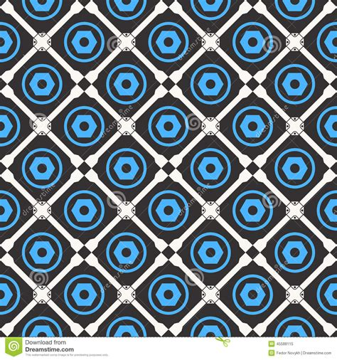 color pattern tool car service tool seamless pattern stock vector image