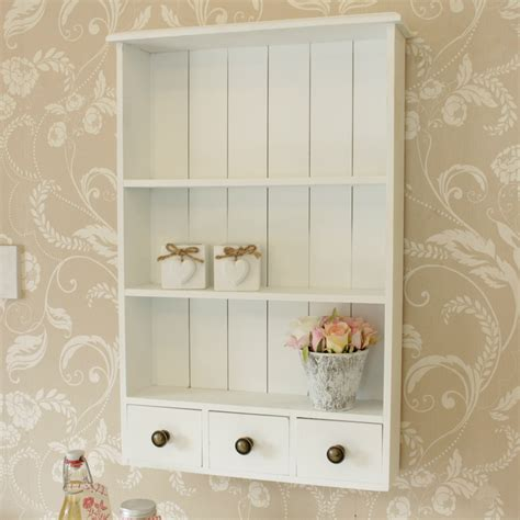 Plastic Kitchen Cabinet Drawers White Wooden Heart Wall Shelf Cabinet Vintage Style Home