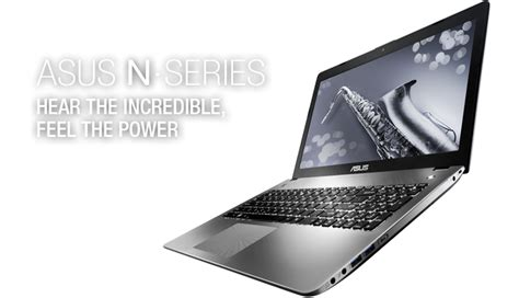 Asus Laptop With Sonicmaster asus sonicmaster hear the power feel the power