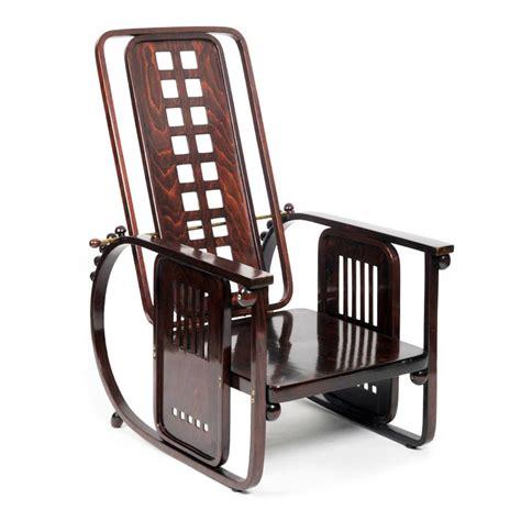 Machine Chair by Josef Hoffmann No 670 Sitzmaschine Vitra Miniature Chair