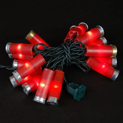 shotgun shell lights shotgun shell string lights novelty lights inc