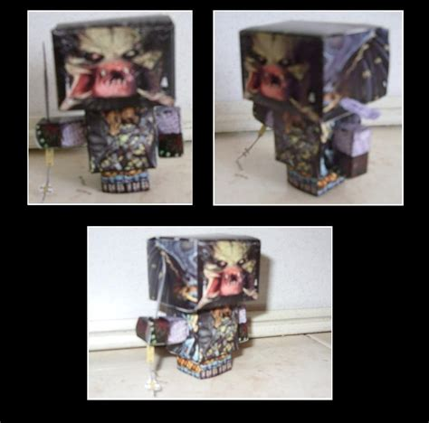 Predator Papercraft - predator cubeecraft by paulinone on deviantart