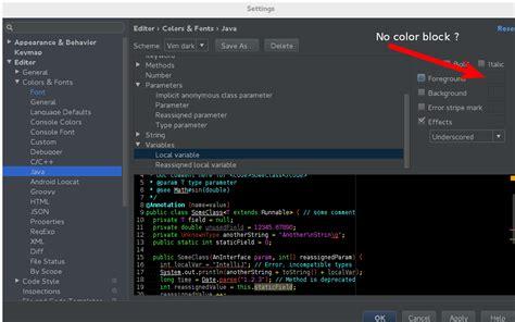 color themes android studio intellij idea android studio vim dark theme unable to