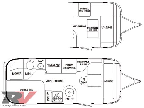 airstream floor plans airstream floor plans autos post