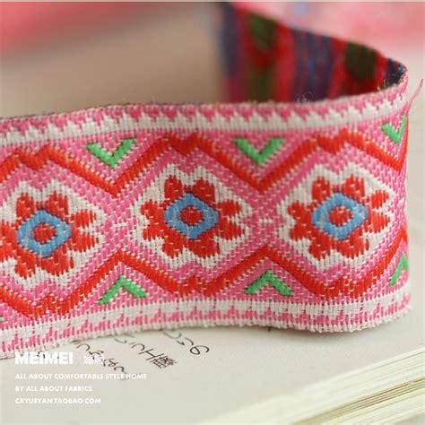 Zakka Handmade - zakka handmade pink laciness embroidered cotton laciness
