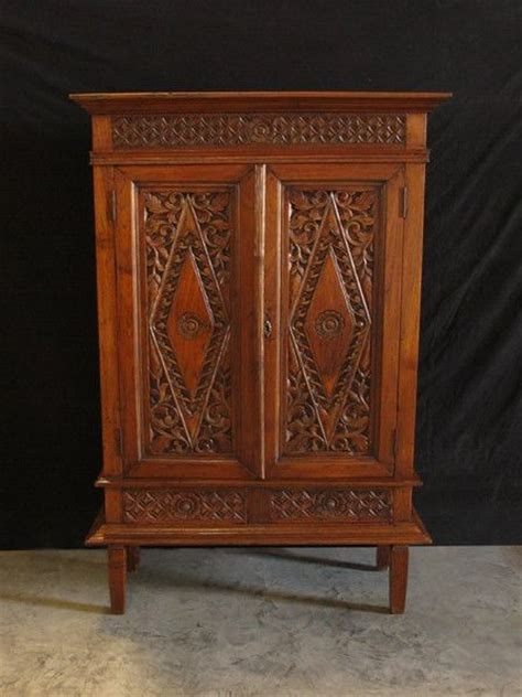 indonesian armoire teak armoires and indonesia on pinterest