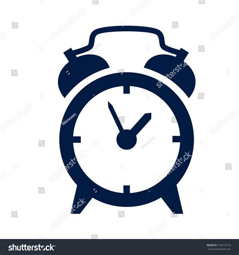 Alarm Vector alarm clock icon stock vector 170715710