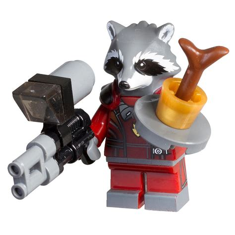 Lego Polybag Guardians Of The Galaxy Rocket Racoon Exclusive lego set 500214 marvel rocket racoon and baby groot minifigure polybag personalised lego