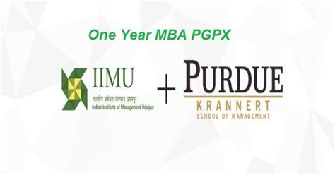 One Year Mba In Usa Shiksha by Iim Udaipur Pgpx Dual Degree From Iim Udaipur Purdue
