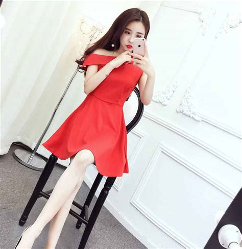 Minidress Jeslyn Ready 4 Warna dress warna merah cantik terbaru 2017 myrosefashion