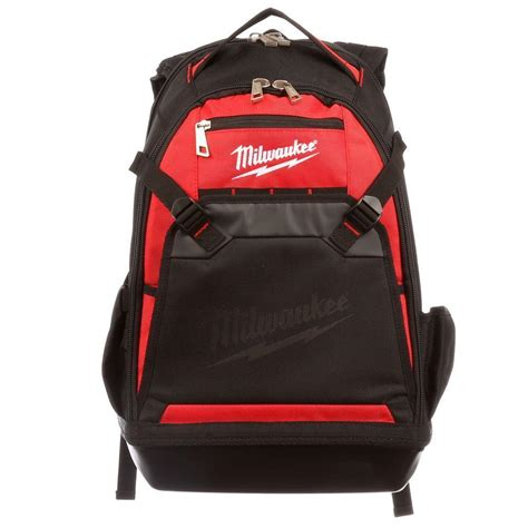 backpack storage milwaukee tool laptop backpack heavy duty storage pocket
