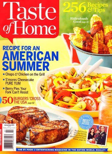 taste of home magazine only 4 49 a year