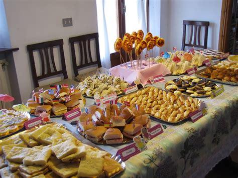 buffet a casa buffet della peppa pig per margherita la casa