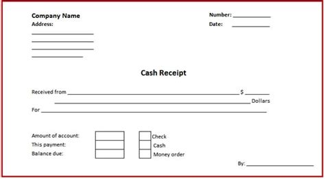 salary receipt template printable salary receipt template word employee