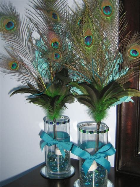 decorative feathers peacock inspired home decor tips 287 best peacock wedding dresses accessories and decor