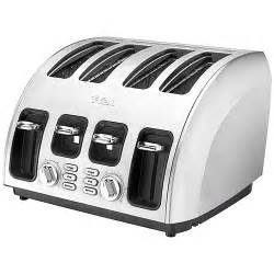 T Fal Avante 2 Slice Toaster T Fal Stainless Avante 4 Slice Toaster Walmart Com