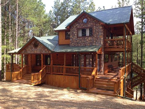 cabin style home luxury log cabins broken bow adventures oklahoma luxury