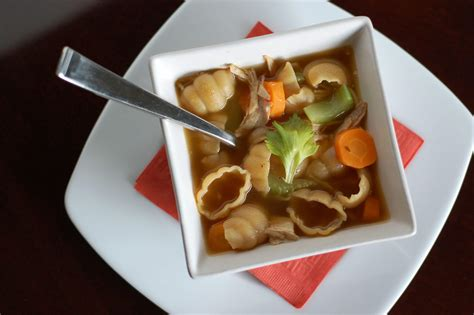 Handmade Real Foods - recipe chicken noodle soup 100 days of real food