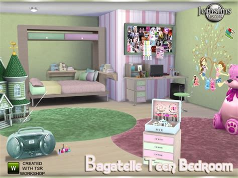 Armchairs For Toddlers The Sims Resource Bagatelle Teen Bedroom By Jomsims