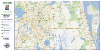 of central florida cus map page 9
