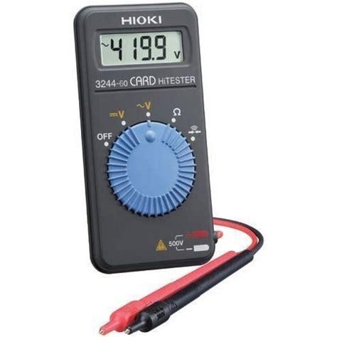 Multitester Digital Hioki 3244 60 hioki digital multimeter 3244 60 multimeters cl