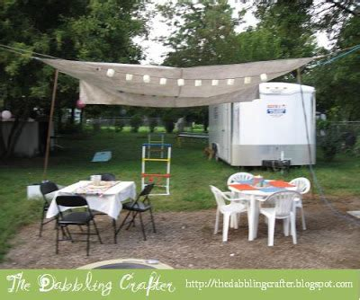 Backyard Canopy Diy by The Dabbling Crafter Diy Outdoor Canopy
