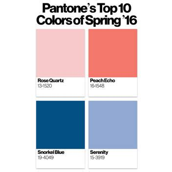 colors for 2016 pantone 2016 d 233 cryptage des couleurs tendance de l ann 233 e