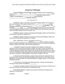 Report Format Sample Assignment Sample Assignment Of Mortgage Form Blank Assignment Of