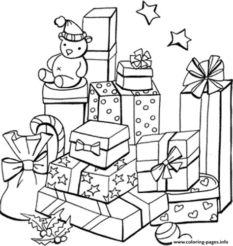 coloring pages info present kid s christmas3ff8 coloring pages printable